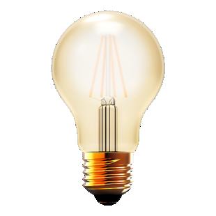 FLY-ampoule led ambre e27 4w 470lm 2700k