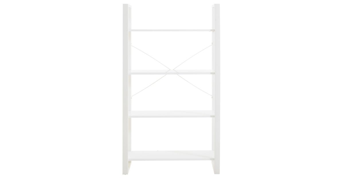 Bibliotheque blanc brillant fly - Meuble bibliotheque fly ...