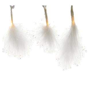 FLY-guirlande led plume l300cm