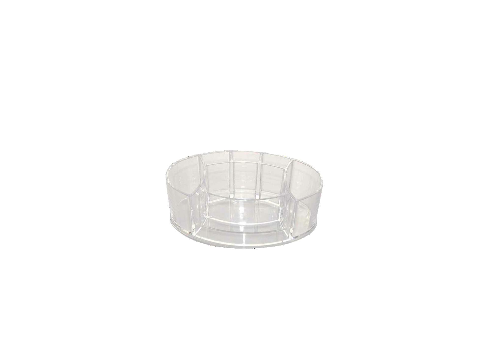 Vide poche transparent fly for Accessoire salle de bain transparent