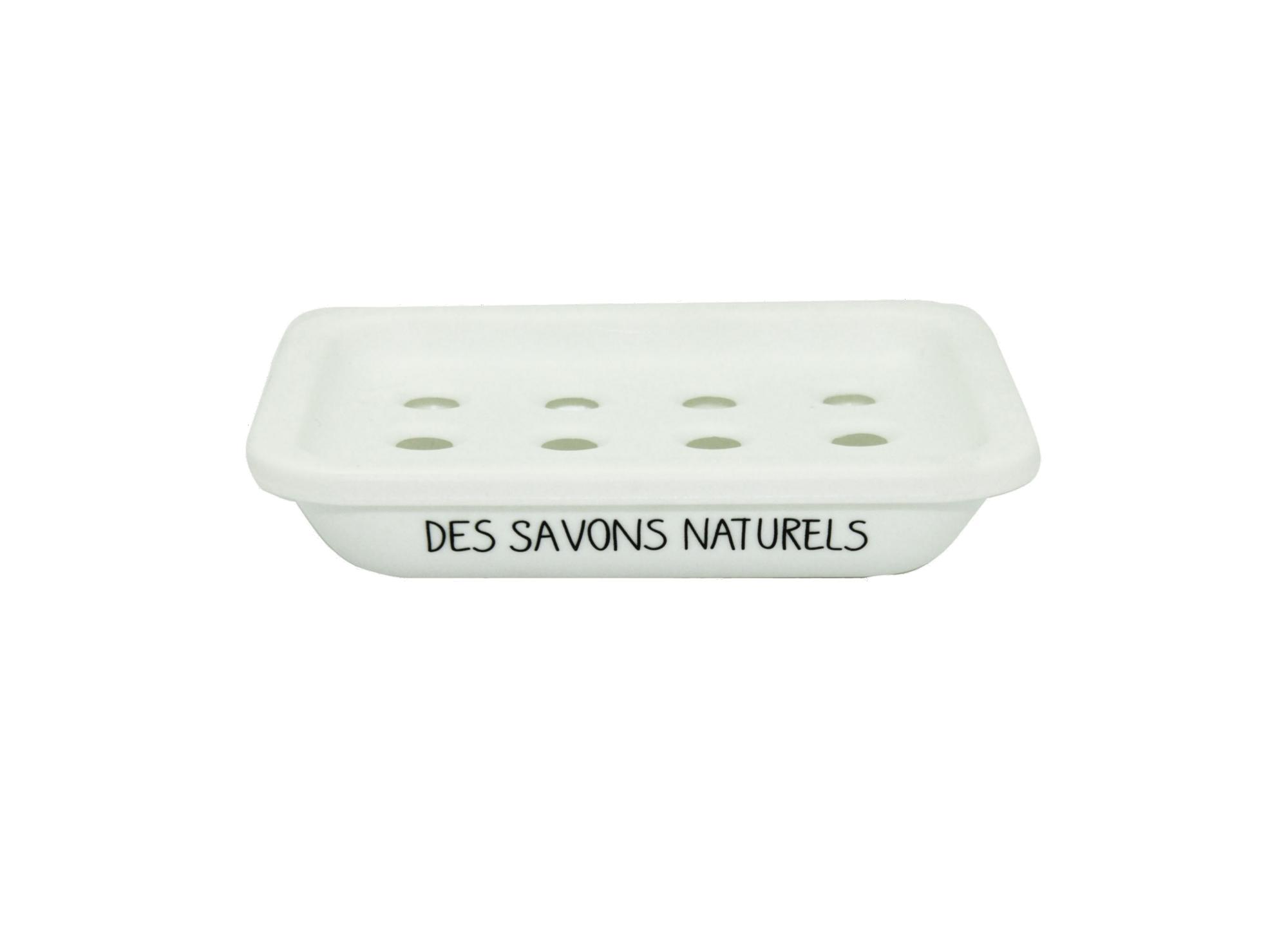 Porte savon blanc en polypropy lene