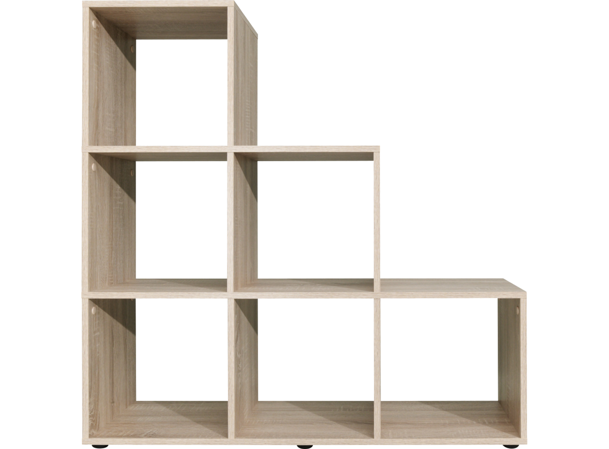 Etagere Escalier 6 Cases Chene Fly