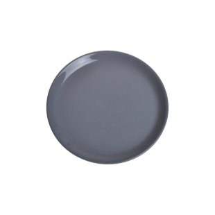 FLY-assiette plate d25.5cm anthracite