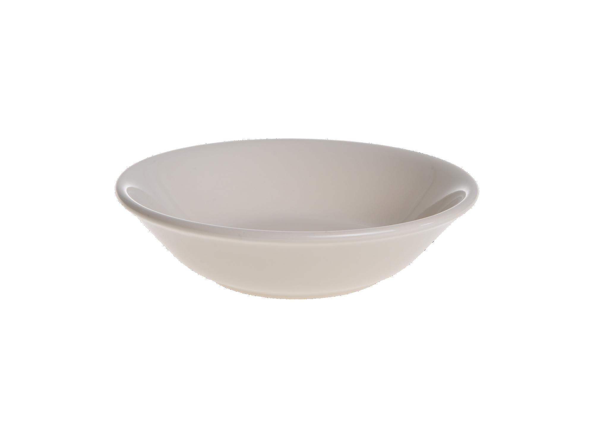 Assiette creuse en faience emaillee creme resiste au lave-vaisselle e ...