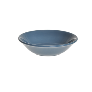 FLY-assiette creuse d18cm bleu