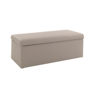 FLY-banc de lit rectangulaire pu taupe