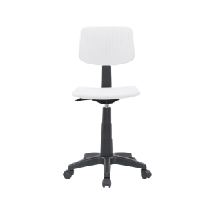 FLY-chaise de bureau coque blanche