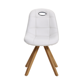 FLY-chaise assise blanche