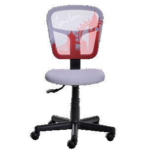 FLY-chaise de bureau motif londre
