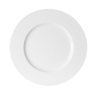 FLY-assiette plate d.27cm blanc a relief