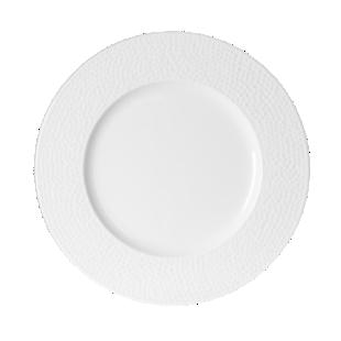 FLY-assiette dessert d21cm blanc avec relief