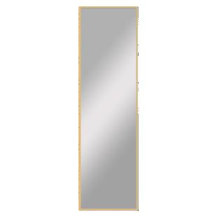 FLY-miroir 41x141cm cadre bois clair