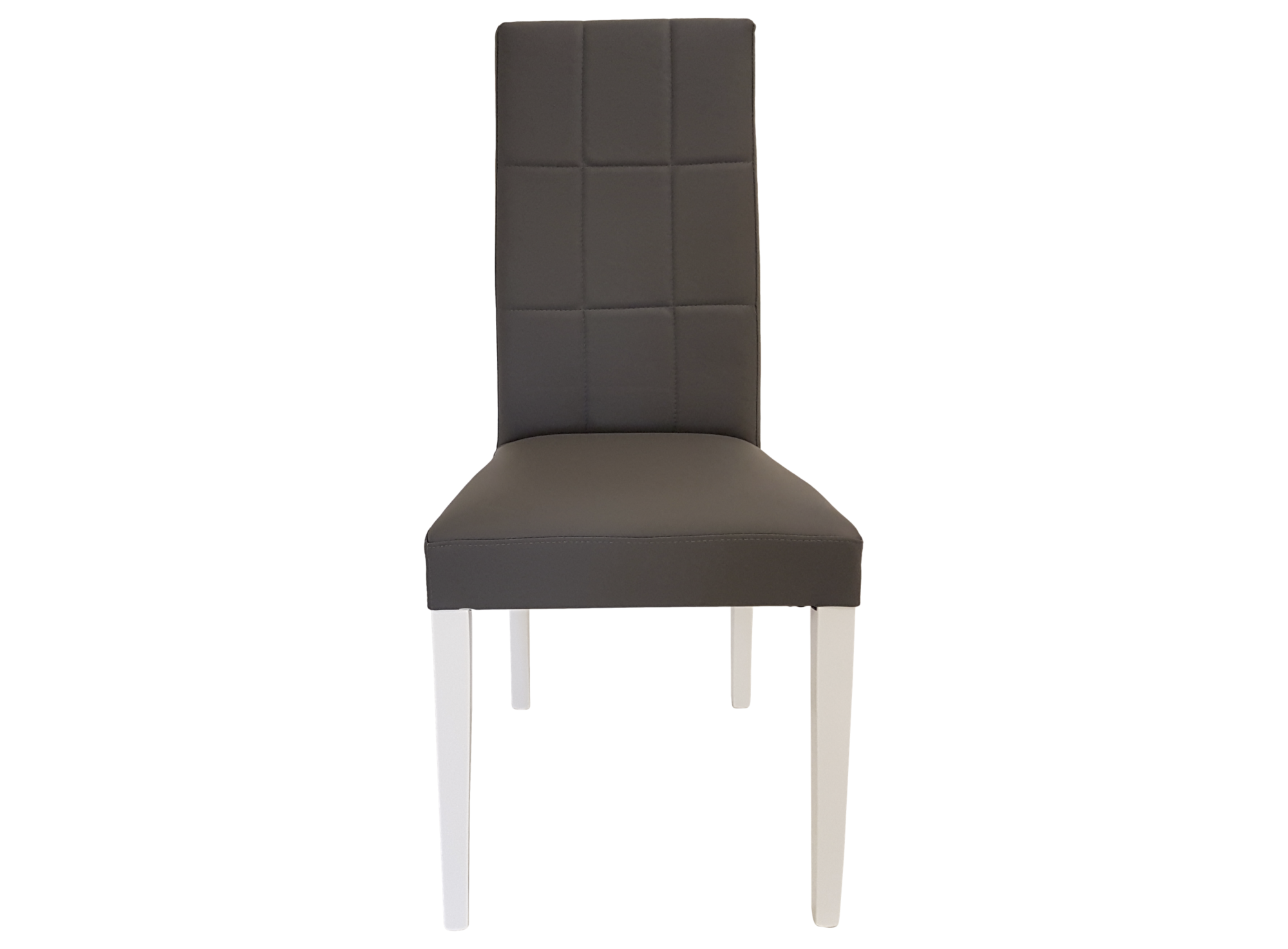 chaise blanc gris fly. Black Bedroom Furniture Sets. Home Design Ideas