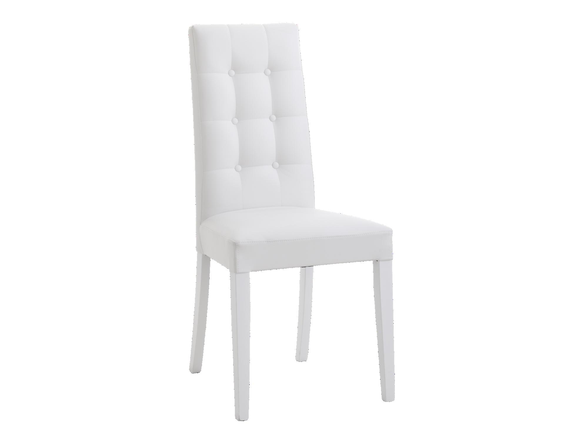 Chaise : structure et pietement en hetre massif laque finition vernis ...