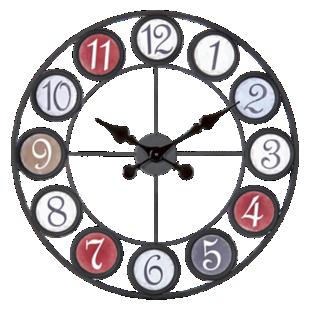 FLY-horloge d.60cm color