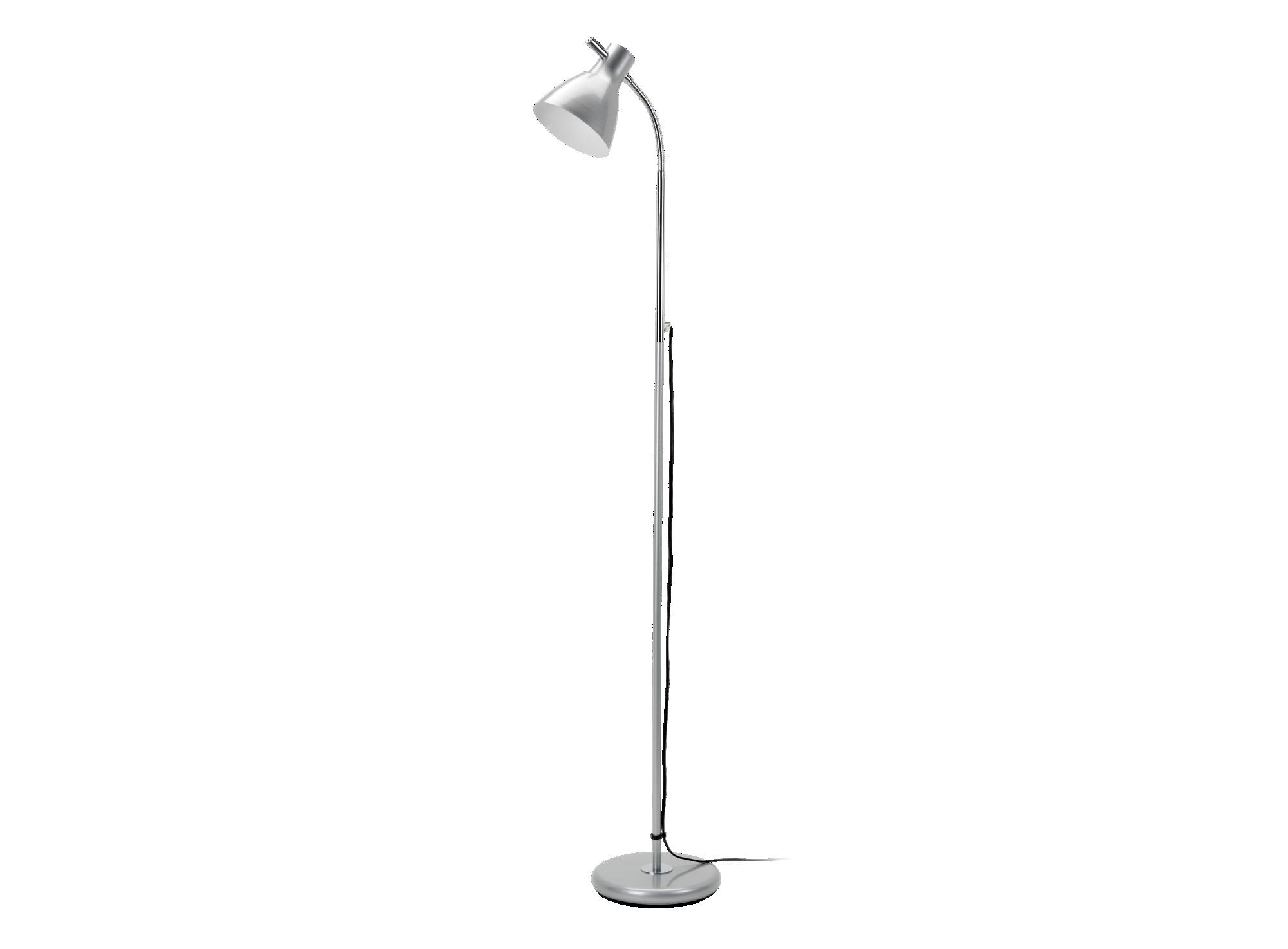 Lampadaire hauteur 137cm diametre 22cm en fer laque coloris chrome et ...