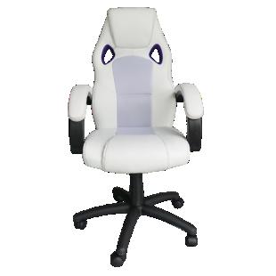 FLY-fauteuil de bureau blanc/violet