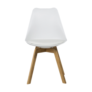 FLY-chaise coque blanche