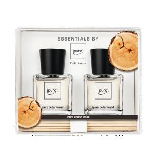 FLY-parfum ambiance 2x50ml cedar