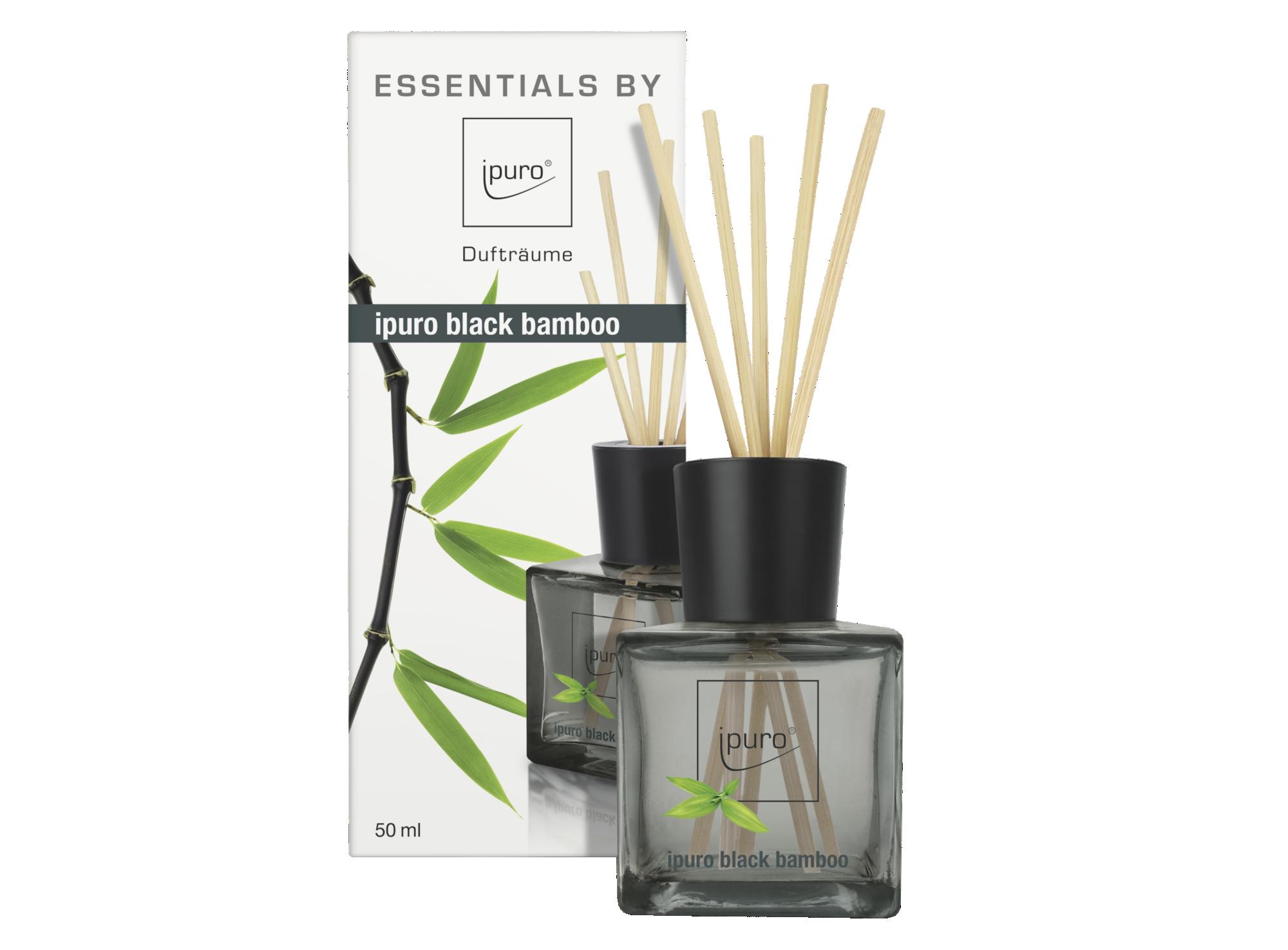 Diffuseur de parfum senteur black - contenance 50ml - vendu avec 12 t ...