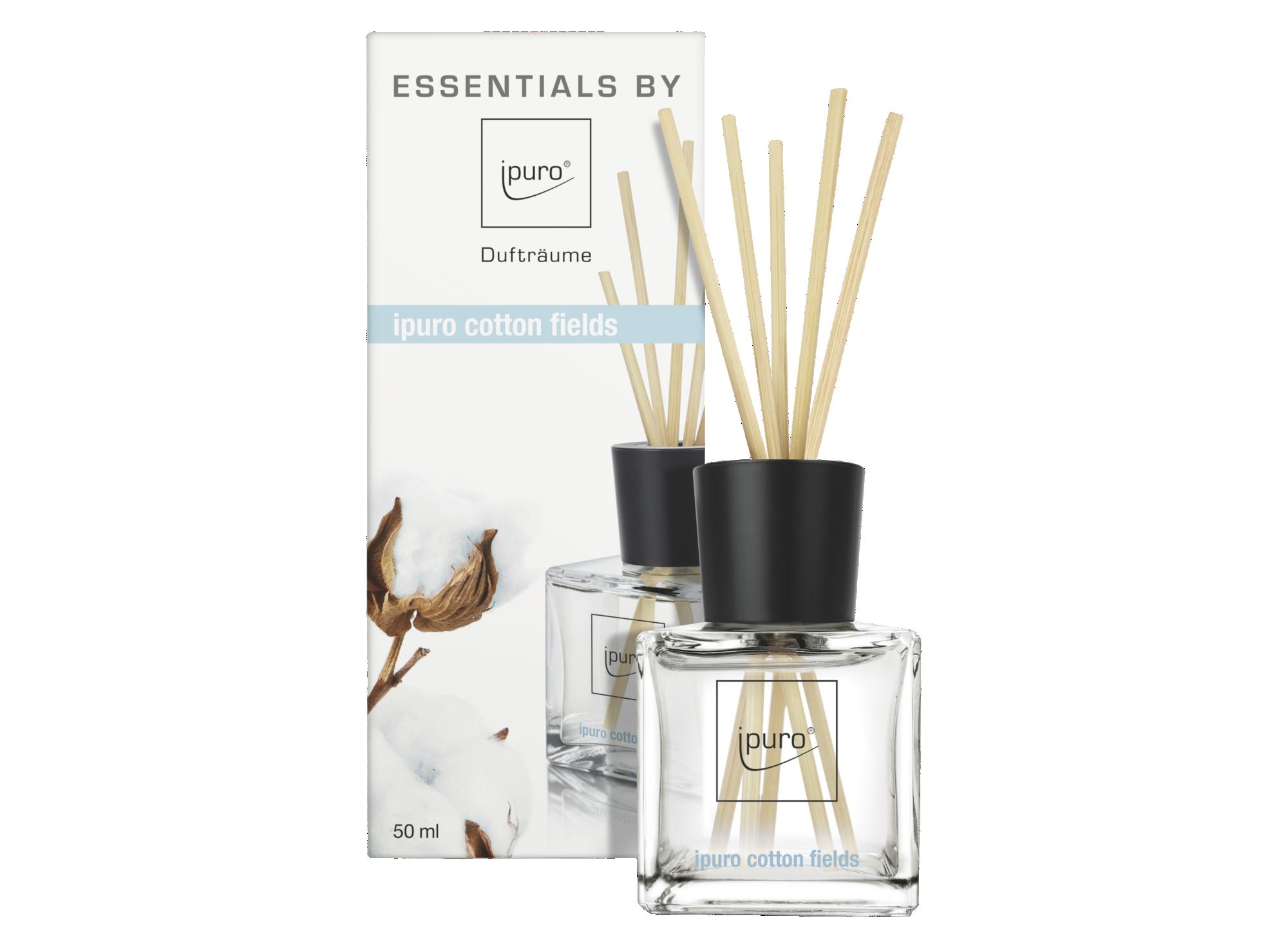Diffuseur de parfum senteur cotton - contenance 50ml - vendu avec 12  ...