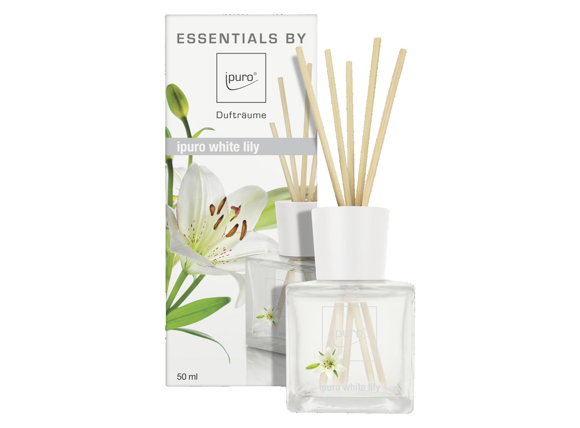 Diffuseur de parfum senteur white - contenance 50ml - vendu avec 12 t ...