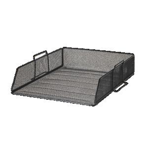FLY-bannette horizontale acier l34 h8 noir