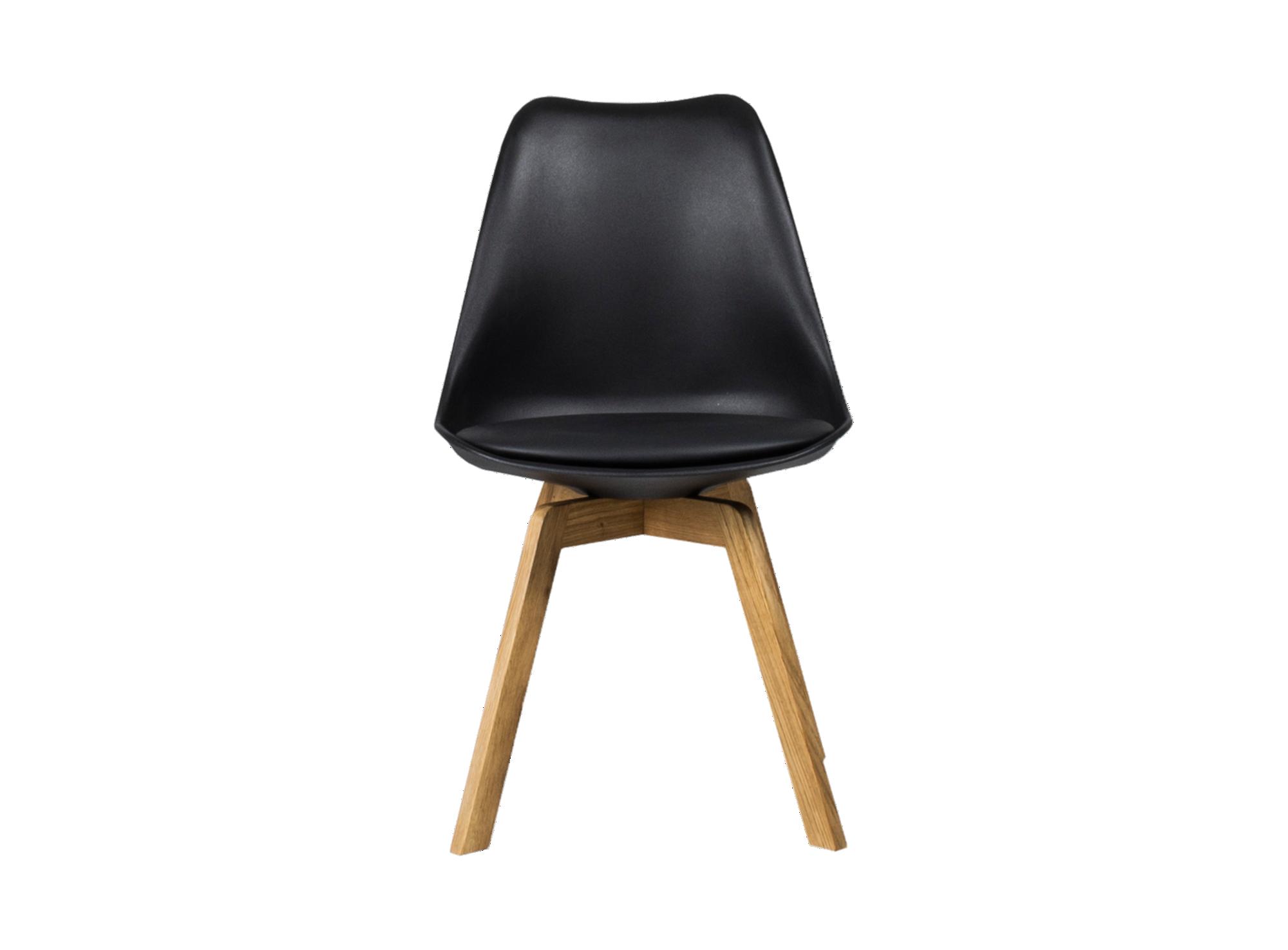 Chaise : pietement en chene finition huile. coque en polypropylene co ...