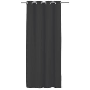 FLY-rideau coton 140x250 noir