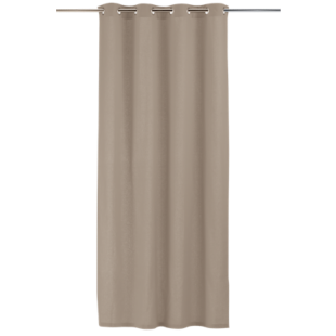 FLY-rideau coton 140x250 taupe