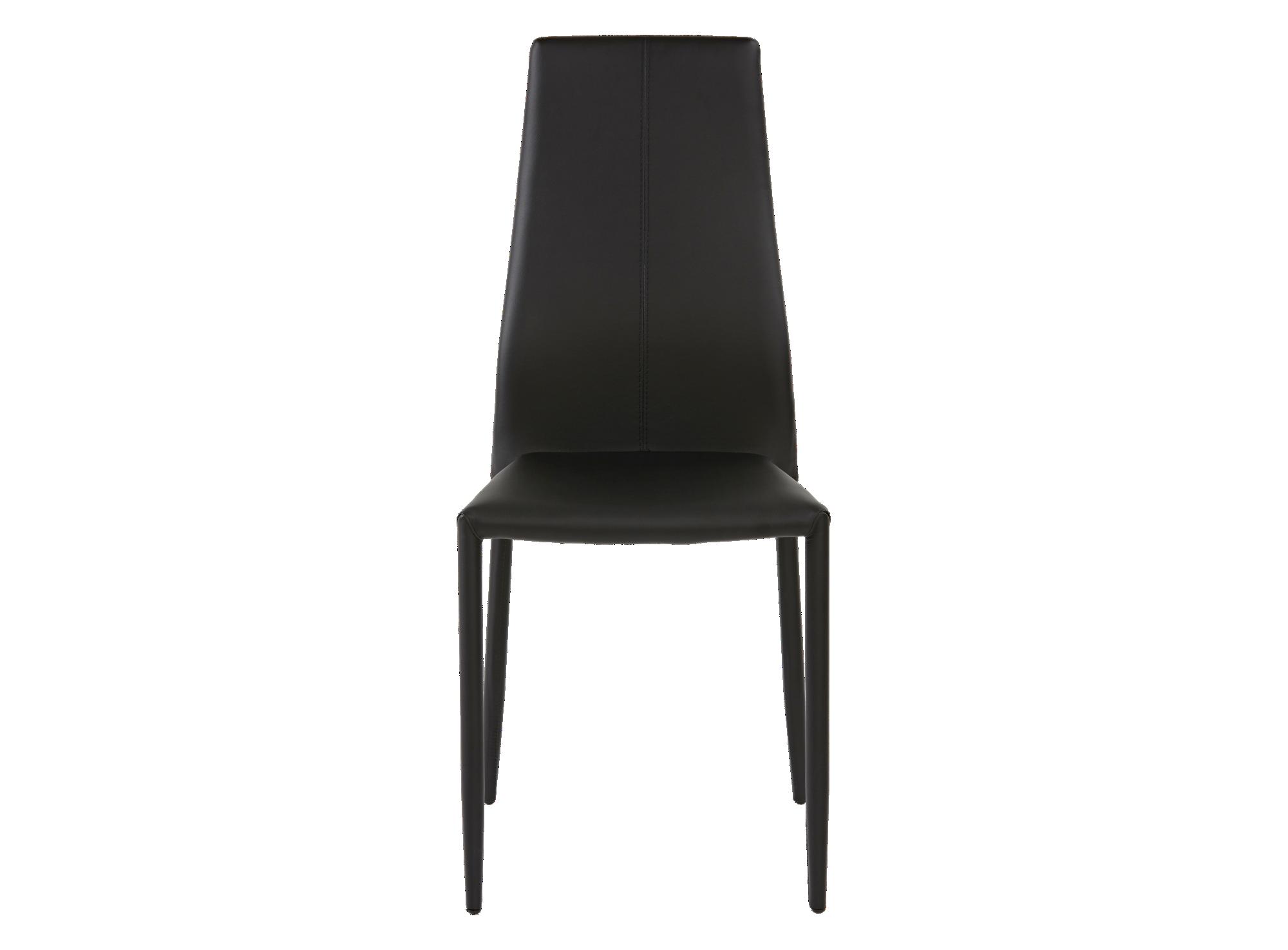 Chaise : structure en acier. assise et dossier garnis de mousse polyu ...