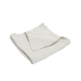 FLY-serviette lin 40x40 blanc