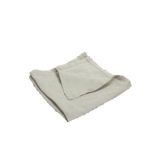 FLY-serviette lin 40x40 naturel