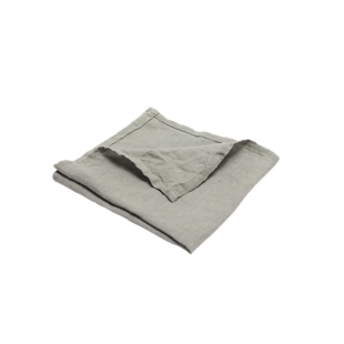 FLY-serviette lin 40x40 gris