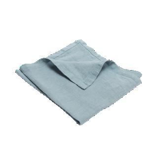 FLY-serviette lin 40x40 bleu ciel