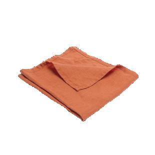 FLY-serviette lin 40x40 brique