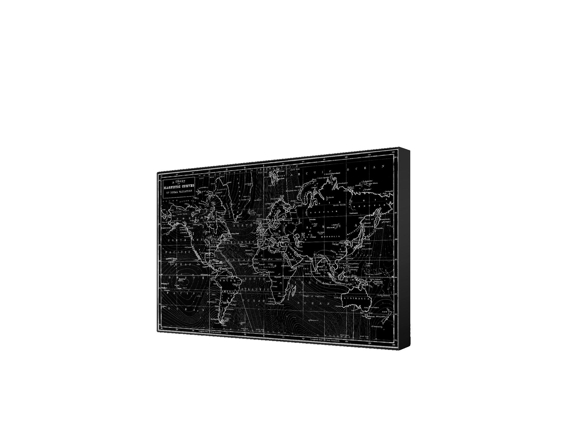 Affiche 60x80cm polyester laminee sur mdf avec cadre polystyrene - fi ...