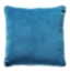 FLY-coussin velours 45x45 bleu canard