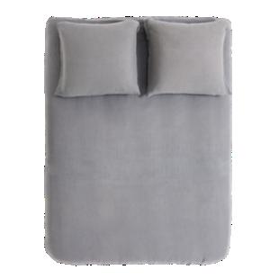 FLY-housse de couette 220x240cm + 2taies lin gris