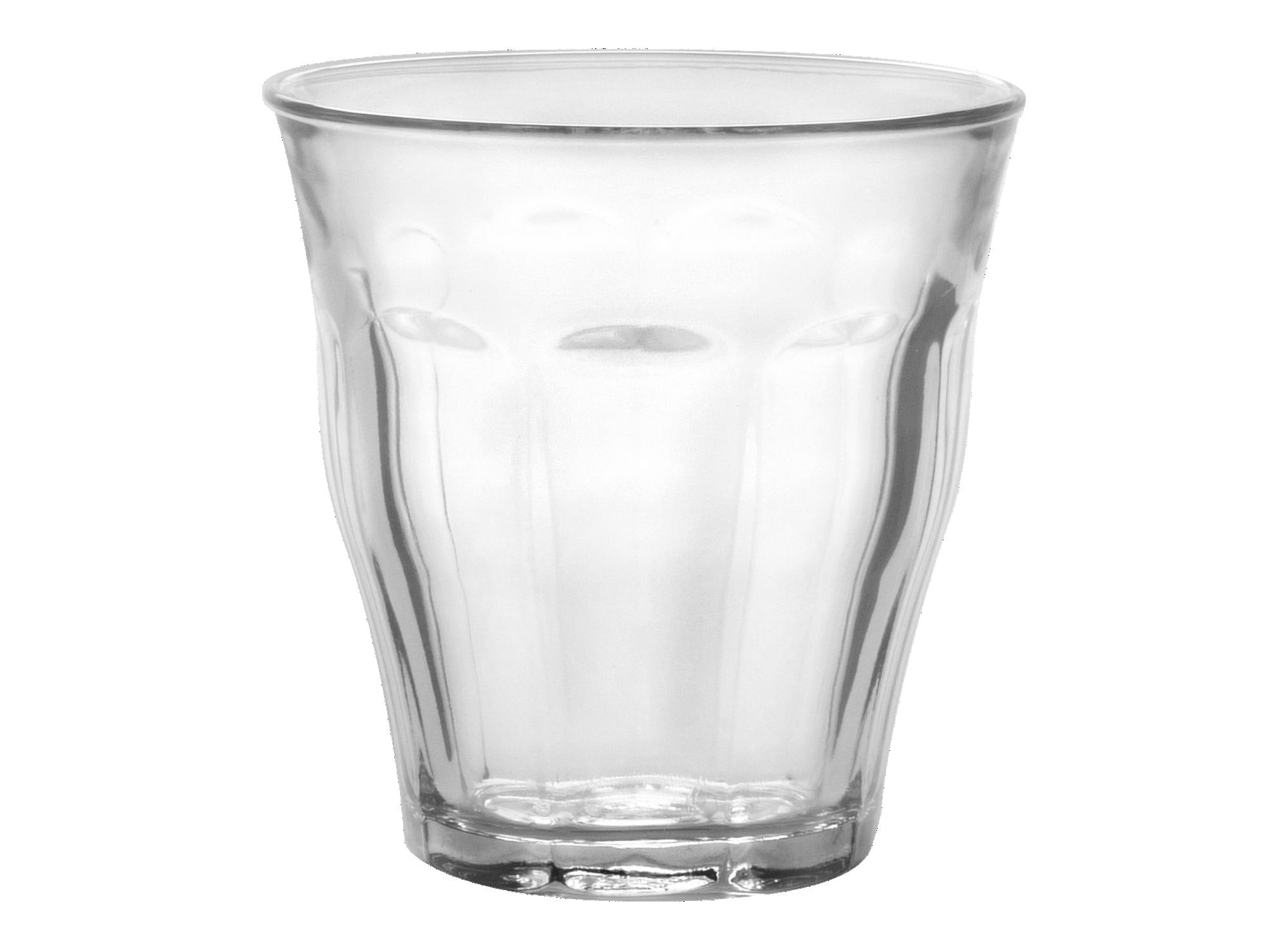 Gobelet 25cl en verre mecanique transparent. resiste au lave vaissell ...