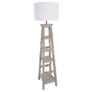FLY-lampadaire terminalia/coton h162 blanc