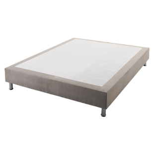 FLY-sommier 140x190 cm gris clair