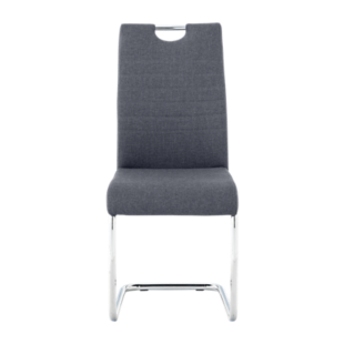 FLY-chaise tissu anthracite