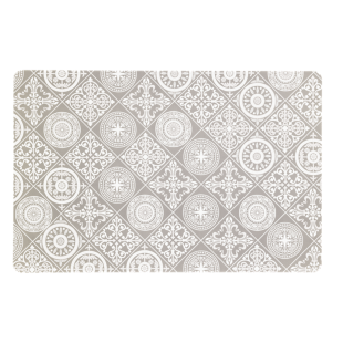 FLY-set de table 43,5x28,5cm effet carreaux ciment