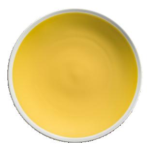 FLY-assiette plate d27,5cm jaune