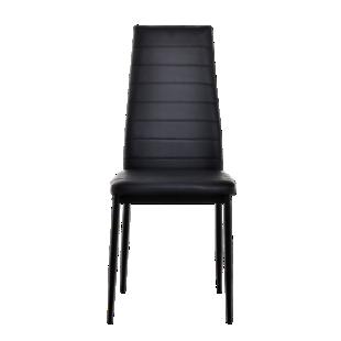 FLY-chaise pu noir