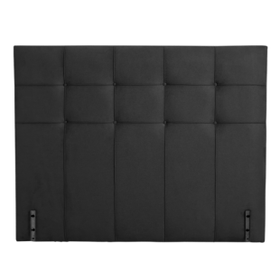 tete de lit bois gris fly. Black Bedroom Furniture Sets. Home Design Ideas