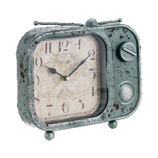 FLY-horloge deco radio h19cm