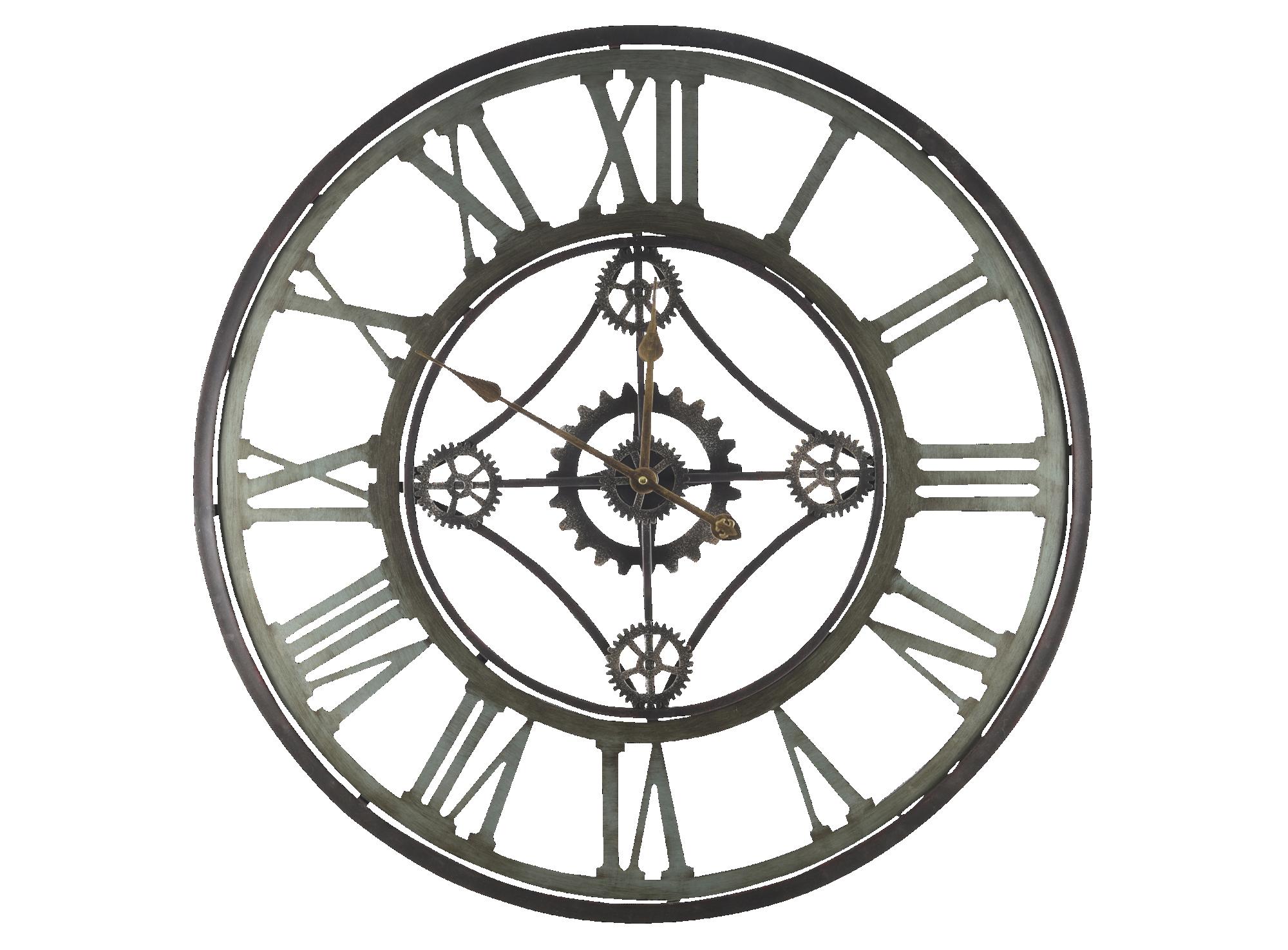 l gant deco chambre adulte avec horloge industrielle metal decoration interieur avec fenetre. Black Bedroom Furniture Sets. Home Design Ideas