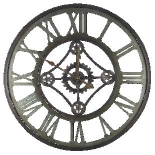 FLY-horloge fer d80cm